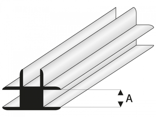 ASA T-Verbindungs Profil 1x1000 mm Krick rb447-51