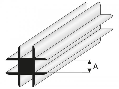 ASA Kreuz Verbindungs Profil 2x1000 mm Krick rb448-53