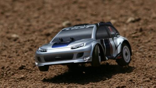 1/24 Micro Brushless Rally RTR - Intl: Blau Horizon LOSB0243IT1