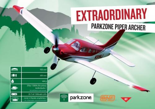 Parkzone Archer RTF Mode 1 Horizon PKZ6100M1