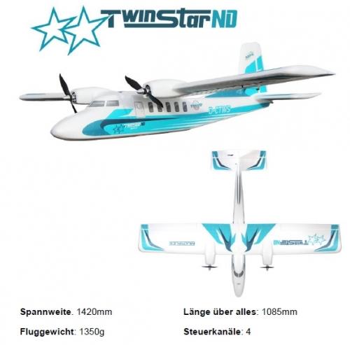 TwinStar ND Baukasten Multiplex 1-00912