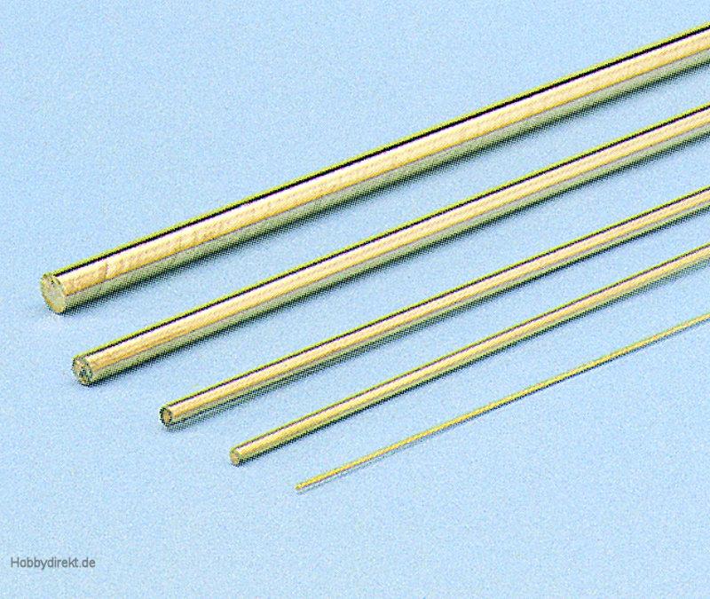 Messingdraht  1,5 mmMindestabnahme 10 Stück Graupner 1138.1,5