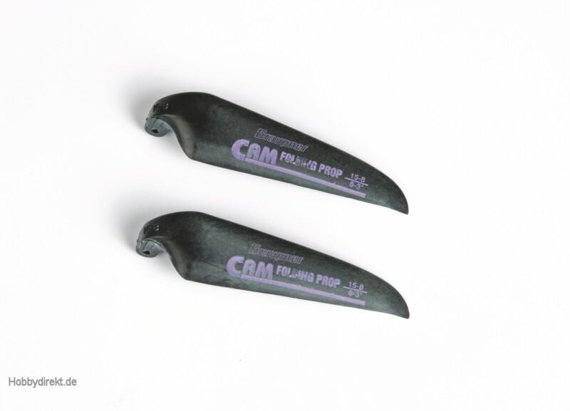 CAM FOLDING PROP blades 15x8 c Graupner 1336.15.8