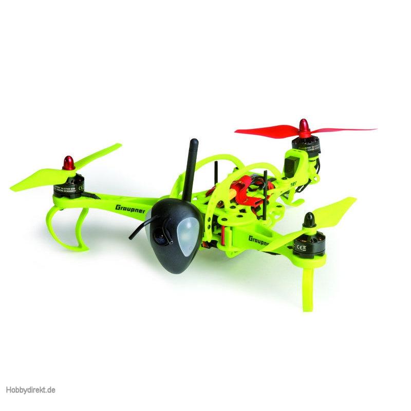 wp hott hornet 250 tricopter graupner 16540 cam. Black Bedroom Furniture Sets. Home Design Ideas