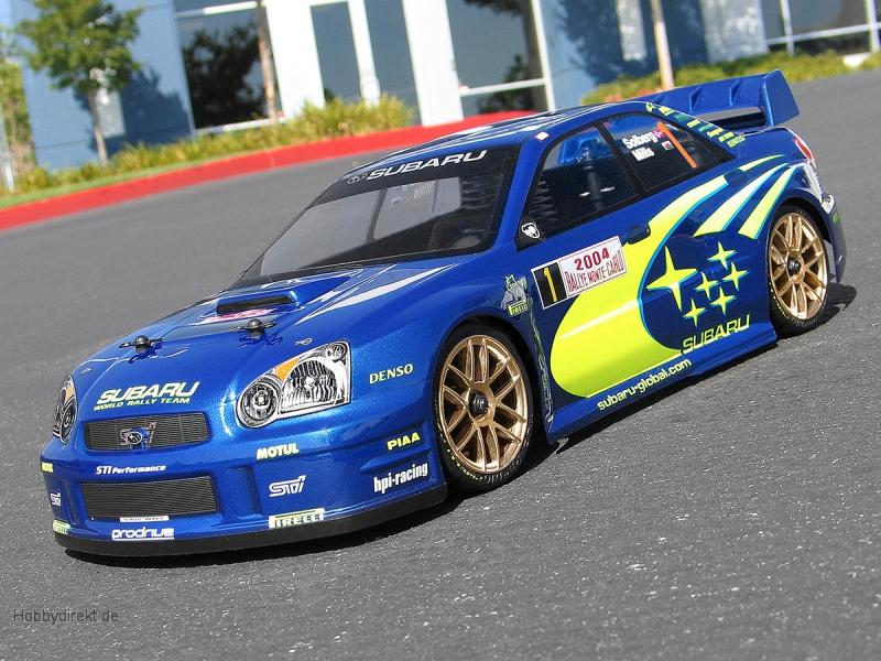 2004 Subaru Impreza WRC Karosserie (190mm) HPI 17205