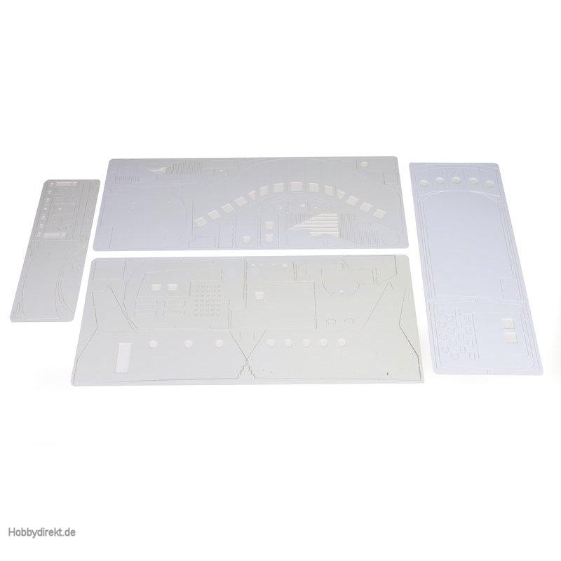 Fräsplatten A,B,CAufbau Graupner 2027.BG.10