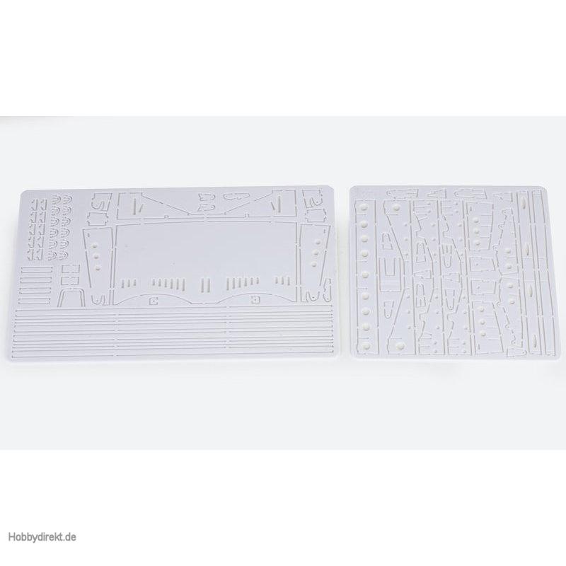 Fräsplatten E,FHeckklappe Graupner 2027.BG.12
