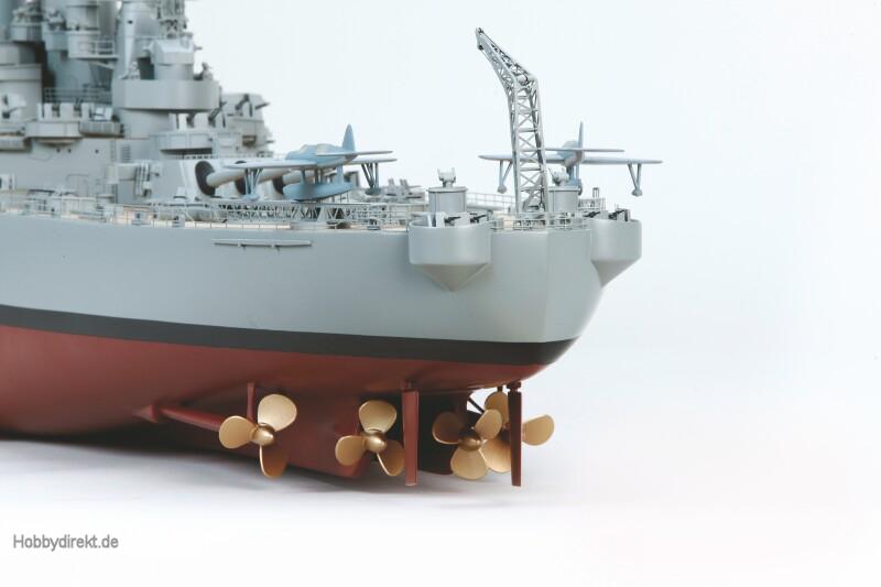 USS MISSOURI Rumpflänge ca. 1790 mm Graupner 21013