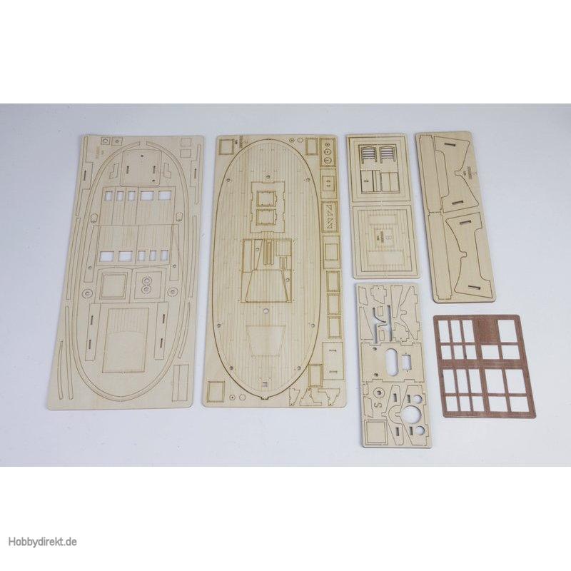Fräsplatten B bis H Graupner 2141.1