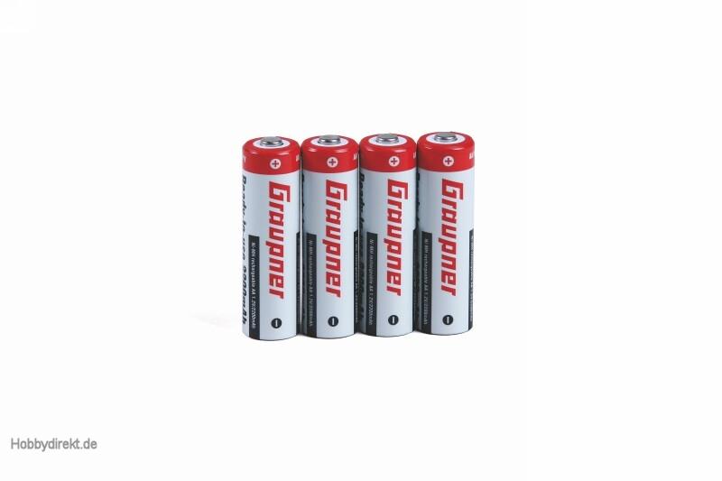 Battery NiMH 1N-20001.2V RTU M Graupner 2498