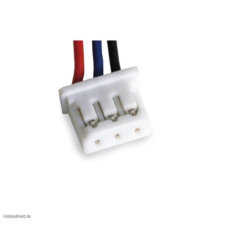 Stecker 3-pol mit Kabel für Potis Graupner 33000.20