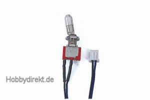 Sicherheitsschalter1-polig f. mc-Sender Graupner 33001.1
