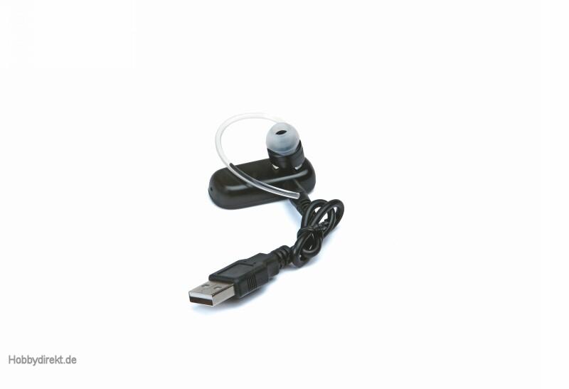 HoTT BLUETOOTH® v2.1+ EDR Headset HSP Graupner 33002.22