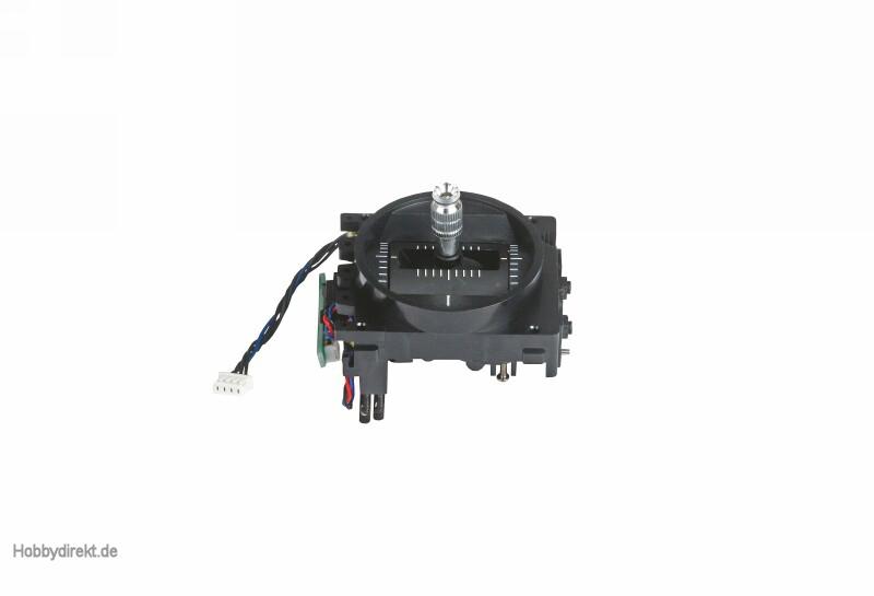 Knüppelaggregat mc-16/20 Alu links Graupner 33016.10L