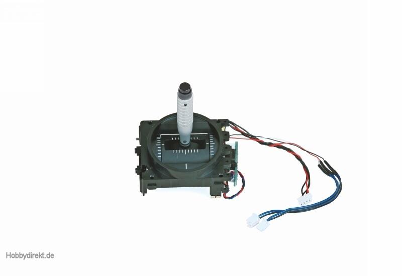Steuerknüppel mit Kicktaste + Aggregat R Graupner 33016.45R