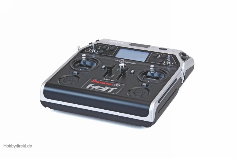 MC-16 Graupner/SJ HoTT Fernsteuerung 2,4 GHz Graupner 33016.ES