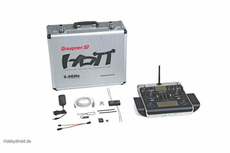Sender einzeln mc-32HoTT 16-K. PRO FR Graupner 33032.77.FR