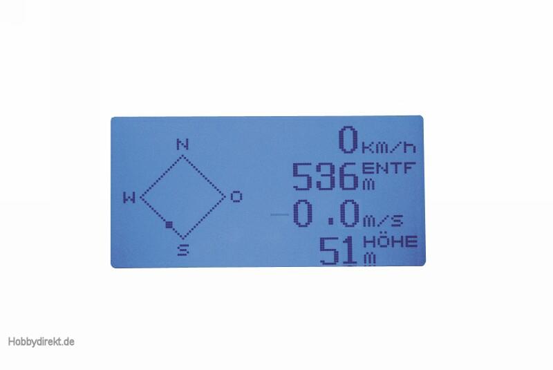 MC-20 Graupner HoTT Fernsteuerung 2,4 GHz Graupner 33020.77.FR
