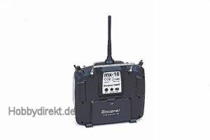 MX-16 - english8-Kanal UK Lade Graupner 33116.UK