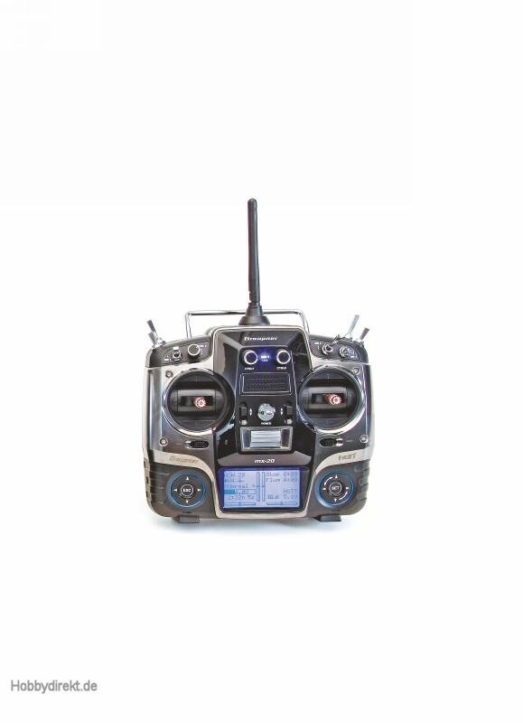 Sender einzeln mx-20HoTT 12-Ka Graupner 33124.77