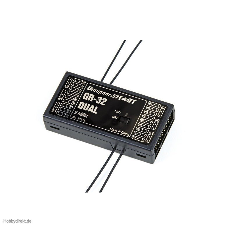 GR-32 receiver HoTT Graupner 33516