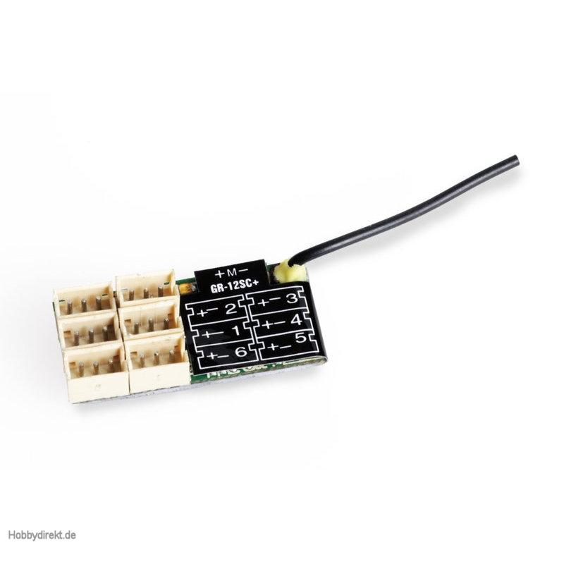 receiver GR-12SC+ HoTT Graupner 33566