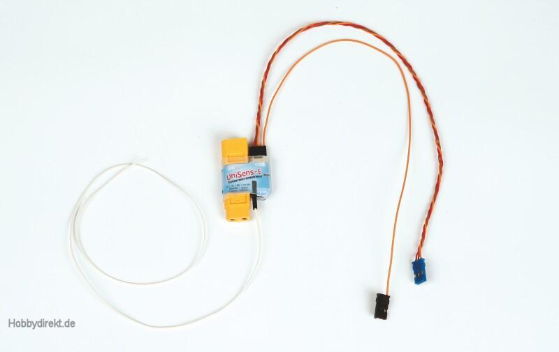 UniSens-E Telemetriesensor mit XT60 Stecker Graupner 33644