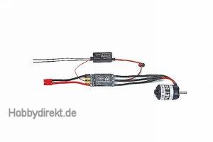 Regler BRUSHLESS CONTROL + T 60 G3,5 Graupner 33760
