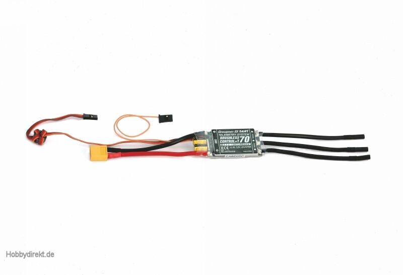 BRUSHLESS CONTROL +T70 D3,5 XT Graupner 33770.D35