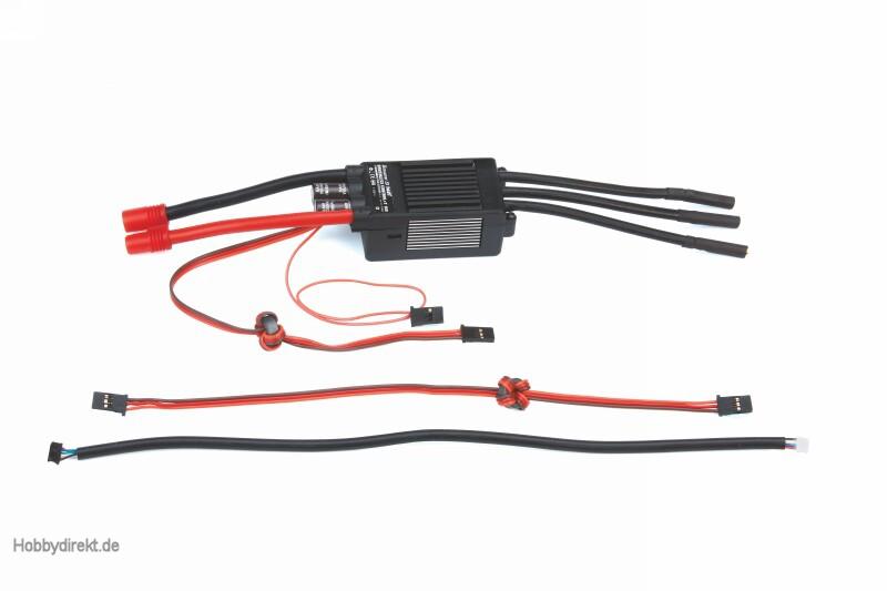 BRUSHLESS CONTROL HV+ T 160 G6 Graupner 33851