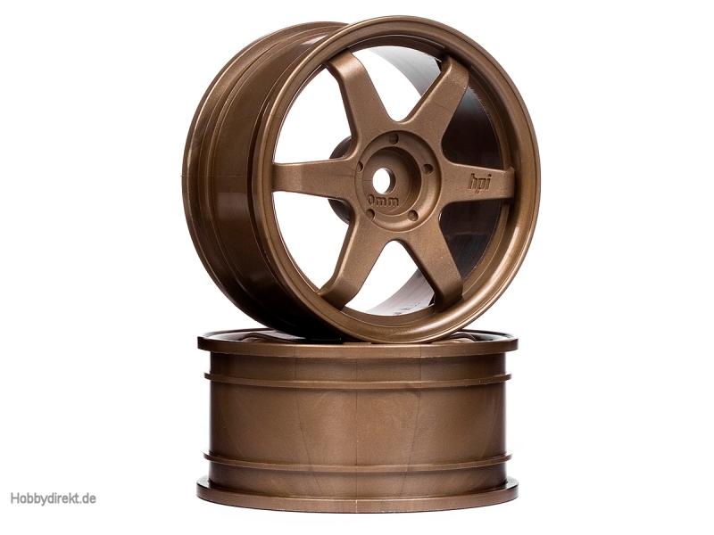 TE37 Felge 26mm (Bronze/0mm Offset) HPI 3838