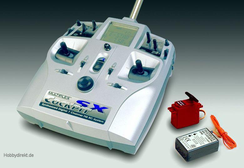 COCKPIT SX Standard-Set Synthesizer 35 Mhz Multiplex 25150
