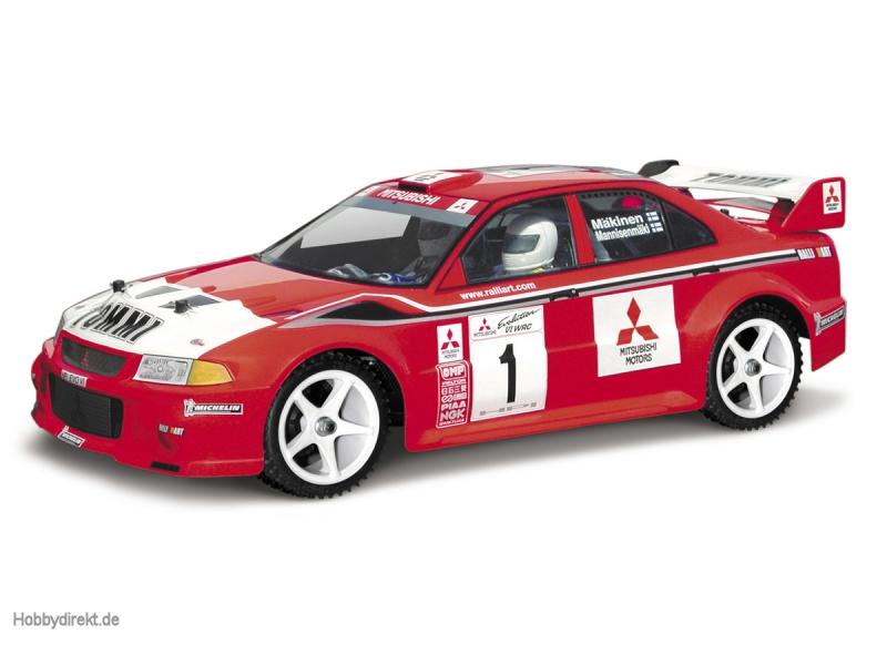 Mitsubishi Lancer Evo 6 WRC Karosserie 190mm HPI 7348