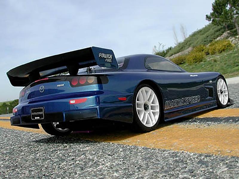 Mazda RX-7 FD3S Karosserie (190mm/Wb255mm) HPI 7382