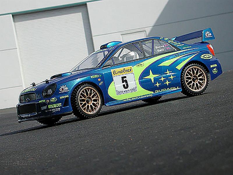 Subaru Impreza WRC 2001 Karosserie 200mm HPI 7458