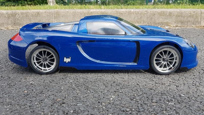 Porsche Carrera GT Karosserie (200mm/Wb255mm) HPI 7487