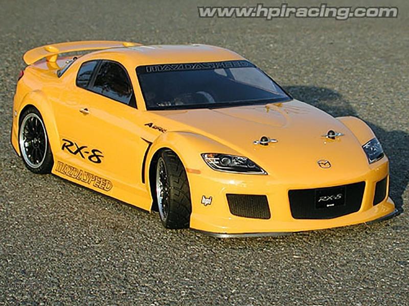 Mazda Rx-8 Mazdaspeed A Spec Kar. (200mm/Wb255mm) HPI 7488
