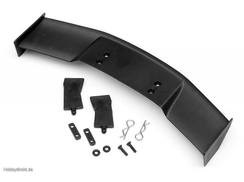 GT Spoiler Set (Typ D/ 1/10 /schwarz) HPI 85288