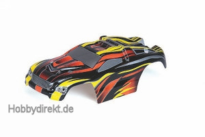 Car body for LEOPARDXXS black/ Graupner 90120.32