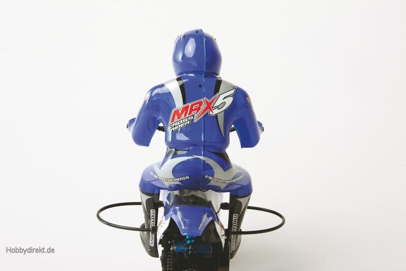 MRX5 CROSS RIDER MOTORRAD RTR Elektro Motorrad Maßstab 1:5 Graupner 90190.RTR
