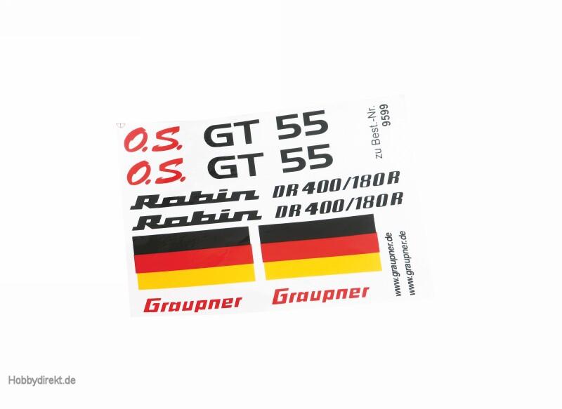 Decorative decal sheet for Jod Graupner 9370.14