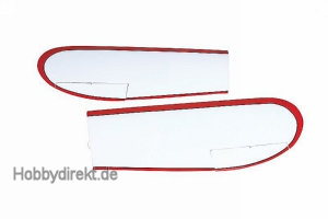 Stick-on wing right/left Graupner 9588.33