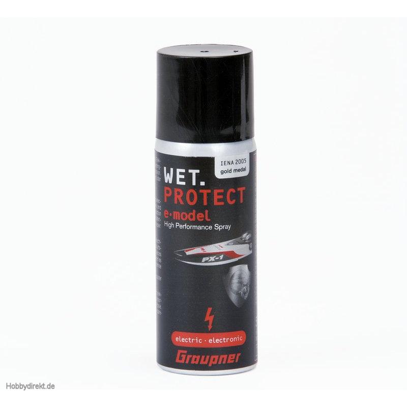 Wet.Protect 50ml Konservierungssprayfür Elektronik Graupner 968.50