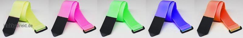 klettgurt 20x200 mm 5 st ck farbig sortiert robbe 59001005 9705095900822 hobbydirekt. Black Bedroom Furniture Sets. Home Design Ideas