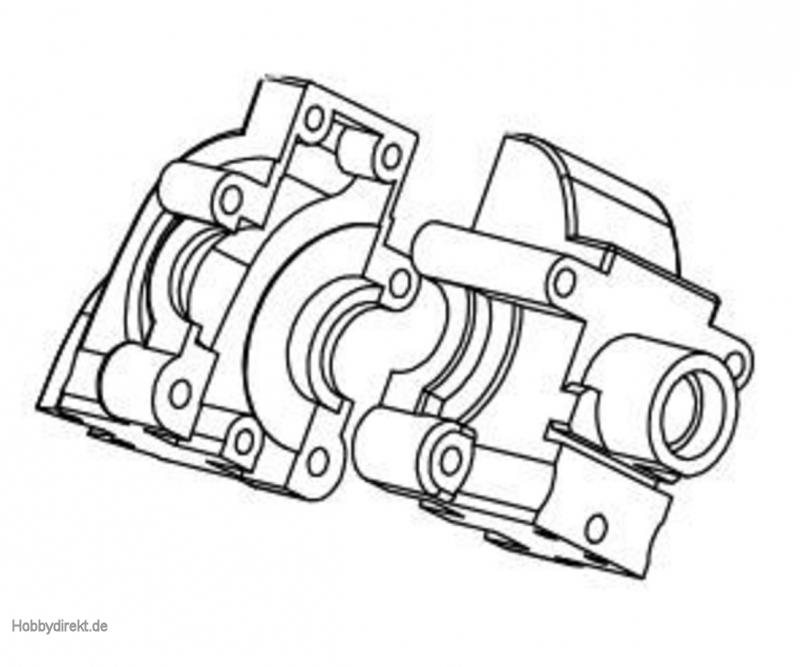 Getriebegehäuse vo/hi CV-10 Carson 105286 500105286