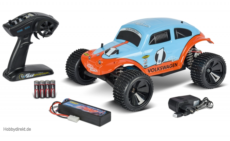 1:10 Beetle Warrior 2WD 2.4G 100% RTR Carson 404086 500404086