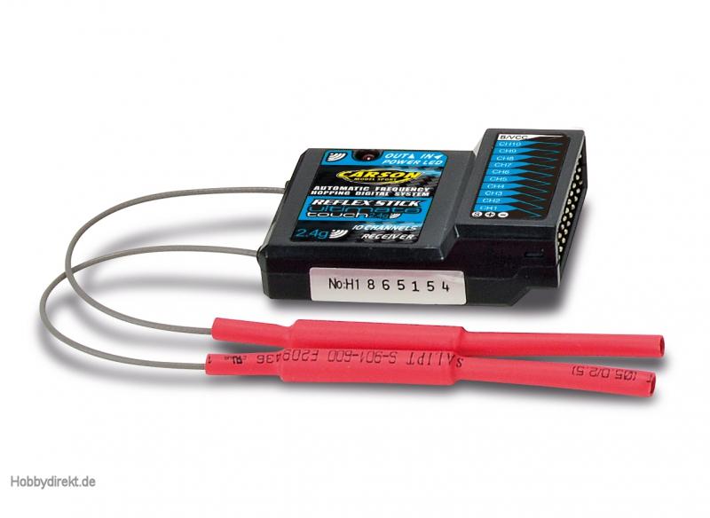 Empf. 10 CH. Reflex Stick Touch Carson 501531 500501531