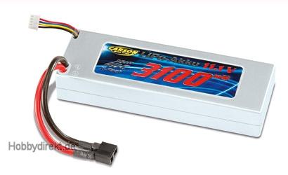 Li-PoRacingPack 11,1V/3100mAh 40C T-Plug Carson 608102 500608102