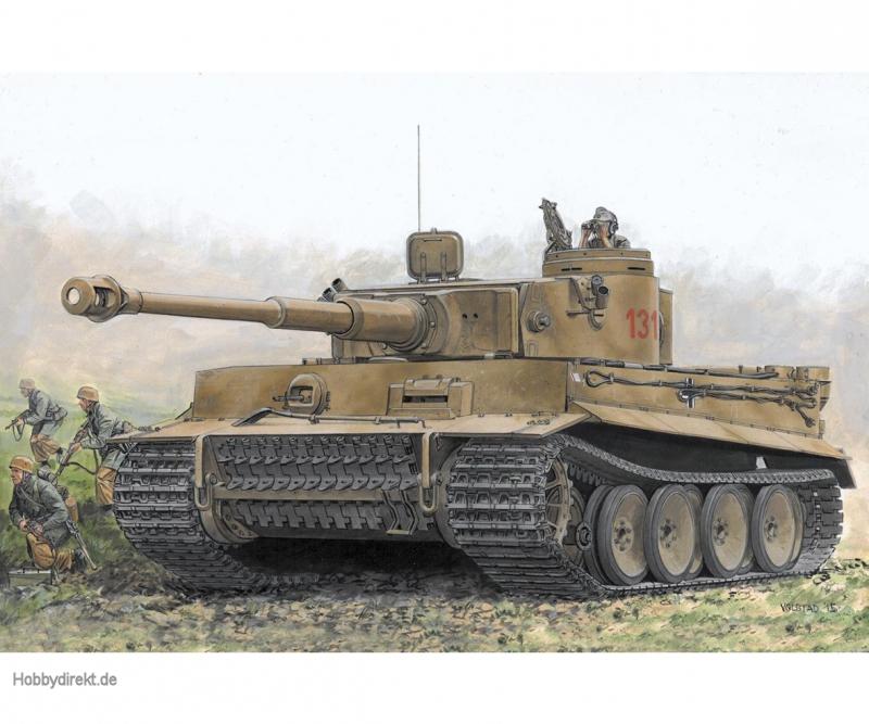 1:72 Tiger I Early Production Carson 777482 500777482