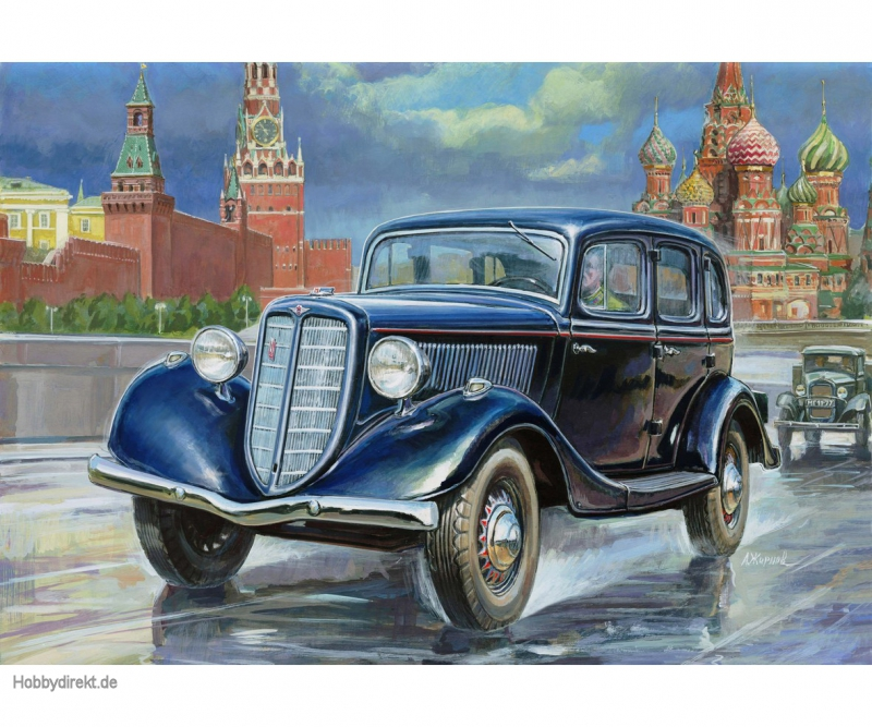 1:35 GAZ M1 Soviet Staff Car Carson 783634 500783634